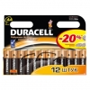 Эл.-т пит.LR Duracell  MX 1500/LR6 BASIC BP-12 (бл 12 ) шт